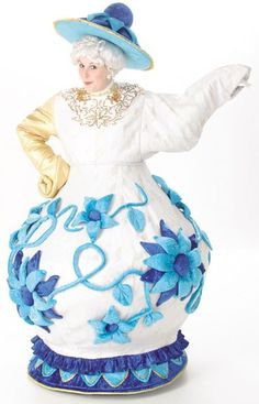 Beauty and the Beast- Mrs. Potts - love this version. Note the teapot hat instead of the standard nightcap kind of hat.