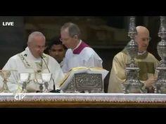 HOMILIAS DEL PAPA FRANCISCO: Papa Francisco en la Misa Crismal 2015