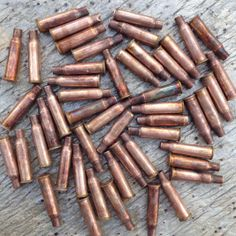50pc Empty Bullet Casings for Steampunk Crafts by JabberDuck, $15.00