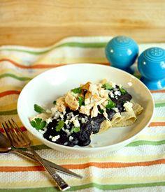 How to make authentic Black Bean Enfrijoladas - from The Wanderlust Kitchen