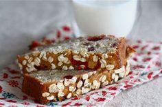cranberry oat banana bread.