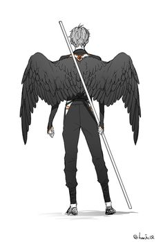 How to draw wings on people design reference 27 ideas Fantasy Character Design, Character Inspiration, Character Art, Art Reference Poses, Design Reference, Reference Drawing, Mangaka Anime, Art Sketches, Art Drawings