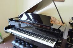 This is our Hailun 151 Grand Piano!  Check out our website at brighamlarsonpianos.com for more information!