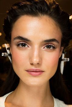 This is closer to the opened-up eyes look I want #weddingmakeup