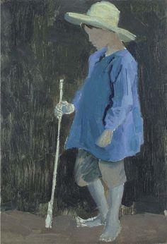 Portrait of David, the artist's son,  Augustus Edwin John. English (1878 - 1961)