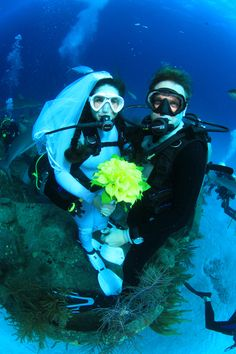Underwater Wedding...