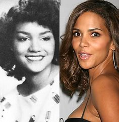 Halle Berry before and after plastic surgery ....She was pretty before but this completely changed her look. Not bad though