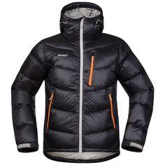 Bergans Memurutind Down, Black& - dunjakke til herre - Magasinet. Ski Touring, Cold Day, Motorcycle Jacket, Winter Jackets, Clothes, Black, Pumpkin, Norway, Fashion