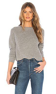 7eafe07c6c2d1 New Scallop Shaker Crew Autumn Cashmere - Womens Fashion Sweater online