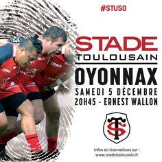 #STUSO Pour nous retrouver au stade, c'est par ici : https://billetterie.stadetoulousain.fr/