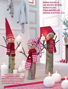 DIY for Christmas DIY - it's beginning to look a lot like christmas - noel Christmas Makes, Noel Christmas, Winter Christmas, Christmas Projects, Holiday Crafts, Theme Noel, Diy Weihnachten, Xmas Ornaments, Xmas Decorations