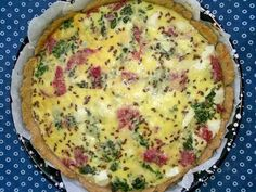 Feta, Quiche, Food And Drink, Cooking, Breakfast, Pie, Morning Coffee, Kochen, Quiches