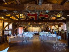 Beautiful interior shot of a Navy Hall Wedding in gorgeous Niagara On The Lake. The perfect rustic barn style wedding right next to the historic Niagara River. #JoshBellinghamPhotography