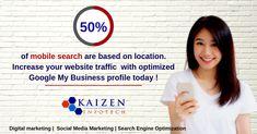 Kaizen Infotech – Best IT Company in Lucknow Facebook Marketing, Internet Marketing, Social Media Marketing, Responsive Web Design, Business Profile, Kaizen, Best Web Design, Google Ads, Digital Marketing Services