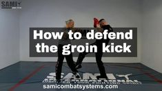On the road is always unfairly fought. Especially against attacks to the groin it is important to react correctly. In this video we show you a simple and eff.