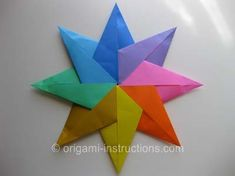 origami-modular-8-pointed-star part one: http://m.origami-instructions.com/?url=http%3A%2F%2Fwww.origami-instructions.com%2Forigami-stars.html#2773