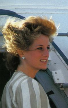 If the wind is grabbing my hat, it is messing up my hair?: Princess Diana