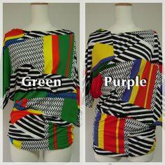 Green n Purple:) #fashion #party #hippie #wear