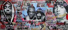 "Saatchi Art Artist Wojtek Bąbski; Collage, ""Rap Music"" #art"