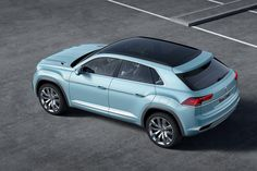 VW Cross Coupe GTE concept - roof