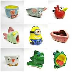 Free DIY Arts & Crafts Tutorial Clay Pinch Pot Ideas by Beth Hemmila
