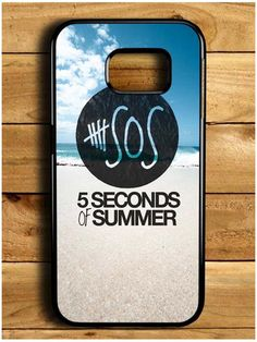 5 Second Of Summer Beach Samsung Galaxy S6 Edge Case