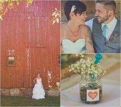 DIY Style Barn Wedding