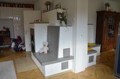 Home Decor, Fireplaces, Tiling, Bielefeld, Lunch Room, Living Room, Homemade Home Decor, Decoration Home, Interior Decorating