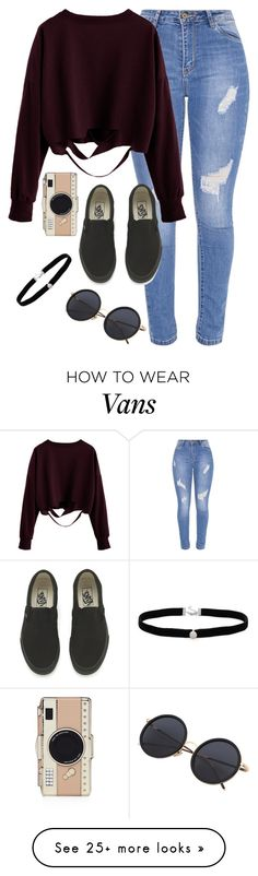 """Very cute, yet simple 33"" by lollypopz951 on Polyvore featuring Vans, Amanda Rose Collection and Kate Spade"