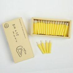 Japanese Canola Candle 5.5cm (set of 50)