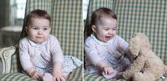 La principessa Charlotte fotografata da mamma Kate
