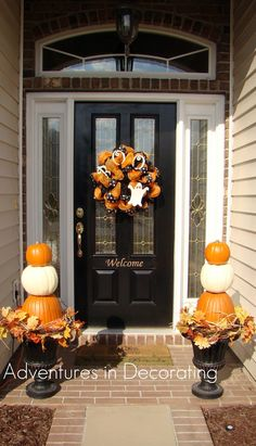 Adventures in Decorating- pumpkin decor