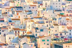 Discover the most beautiful villages in Andalucia. Explore the white-washed towns, historic legends and incredible views in Southern Spain. Spanish Villas, Andalusia Spain, Spain Holidays, Beaux Villages, Cadiz, Stock Art, Block Party, Stretched Canvas Prints, Belle Photo