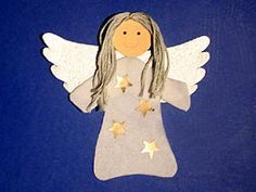 How about a napkin - angel? Kids Christmas, Christmas Crafts, Angel Crafts, Theme Noel, Christmas Inspiration, Design Crafts, Holiday Fun, Art For Kids, Crafts For Kids