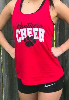 $18. Cheerleader Camp Shirt, cheerleading tank top, cute Cheer shirt design. cheer squad practice wear. cheer coach. #cheerleading #ad