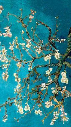 New Wall Paper Computer World Map Ideas Art Inspo, Inspiration Art, Van Gogh Wallpaper, Wallpaper Backgrounds, Monet Wallpaper, Wallpaper Lockscreen, Vincent Van Gogh, Aesthetic Iphone Wallpaper, Aesthetic Wallpapers