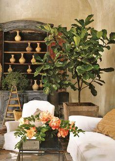 Houses of Veranda - Edouard house design interior design ideas Interior Exterior, Home Interior, Interior Decorating, Interior Office, Interior Ideas, Beautiful Interiors, Beautiful Homes, Toscana Italia, Apartment Design