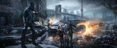 The Division concept art by Ubisoft.