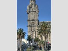 Montevideo  Palacio Salvo - One of the tallest buildings in Montevideo - just beautiful!