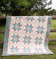 Gemma Quilt Kit featuring Notting Hill by Robyn Pandolph