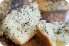 Muffins de limon y semillas de amapola