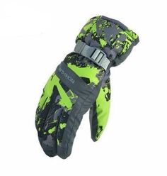 Women Men Ski/Snowboard Gloves Waterproof Unisex Snow Gloves