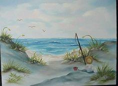 Bob Ross Ocean Paintings   Seascapes