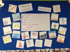 Chalk Talk: A Kindergarten Blog: America is... Acrostic Poem