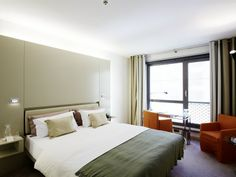 Prague: Hotel Josef Conde Naste Travel Guide - Where to Stay - Medieval Quarter near Old Town Square super modern and sleek $115 a night