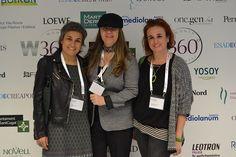 María Freiria nuestra Social Media Manager & e-Business con las hermanas Tomás Yolanda y Núria de Toc de Groc