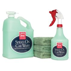 Griots Garage 11357Z Complete SprayOn Car Wash Kit  128 oz >>> Find out more about the great product at the image link.