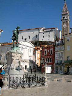 Pirano, piazza Tartini