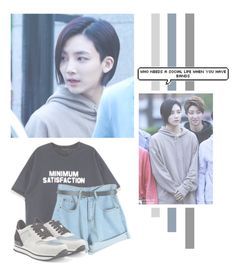 """""""Yoon Jeonghan"""" by lazy-alien ❤ liked on Polyvore featuring Chicnova Fashion, Hogan, seventeen, Jeonghan and yoonjeonghan"""