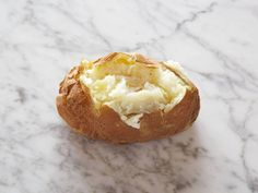 Baked Potato : 1 small (1 3/4 to 2 1/2 inches in diameter) = 100 calories
